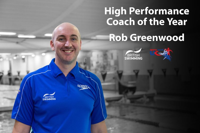 Rob Greenwood - Sports Uk Coach of the year in 2016 for his work at the helm of the successful British para-swimming team at the Rio Paralympics