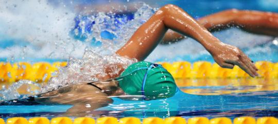 Australian s/c nationals in virtual mode for Covid-19 season - image of Meg Harris, courtesy of Swimming Australia