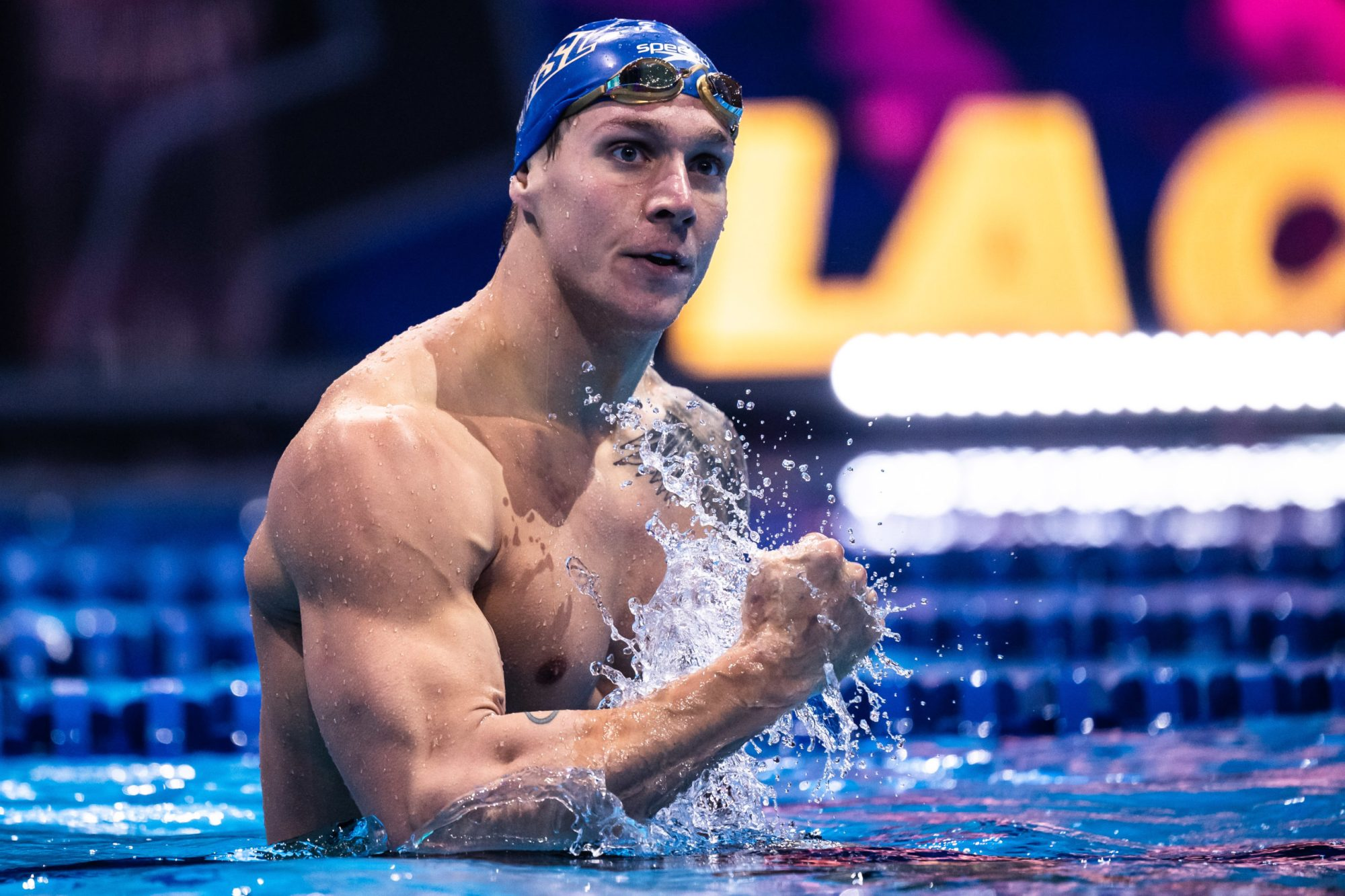 Caeleb Dressel A Condor Faster On 'Fly Than Popov Was On Freestyle 1994 As  He Swoops On Two World Records - 47.78 100 'Fly & 20.16 50 Free - In Swim  League Final - StateOfSwimming