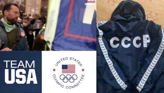 Klete Keller, Olympic symbols he associates with and another form of Olympic coat - a CCCP souvenir