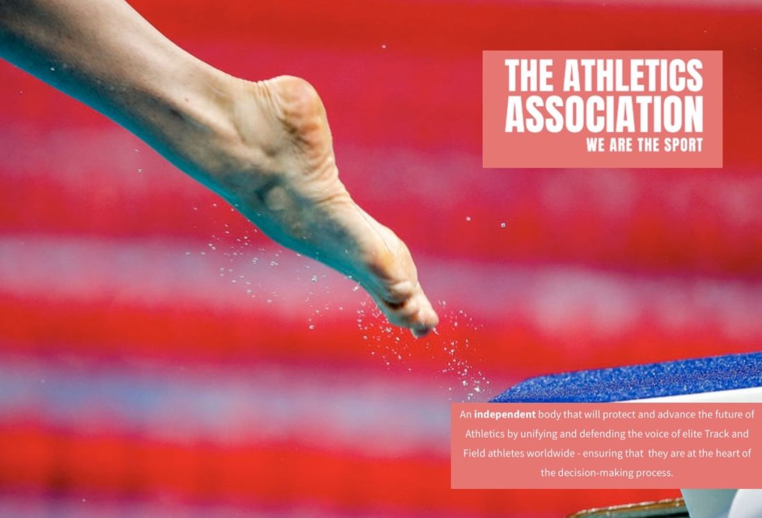The Athletics Association Got Off the Blocks today as the independent voice of Track and Field athletes who want their views heard at the top table of governance in the way The Swimmers' Alliance does too - Photo Courtesy - Patrick B. Kraemer (main image)
