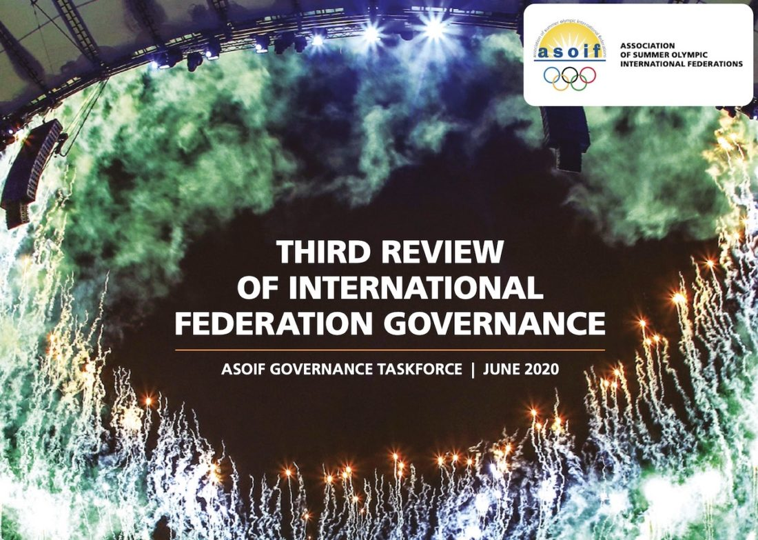 The Third Review of International Federation Governance by the Association of Summer Olympic International Federations