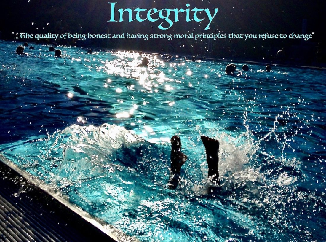 Integrity - time for swimming to take the plunge and harness independent scrutiny to the governance of the sport