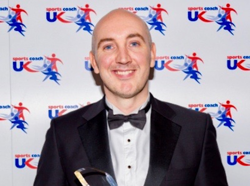 Rob Greenwood - UK Sport Coach of the year in 2016 for his work at the helm of the successful British para-swimming team at the Rio Paralympics