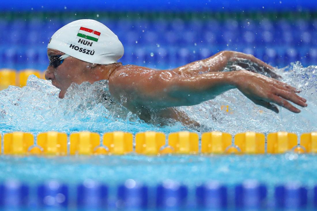 Katinka Hosszú - courtesy of the Hungarian Swimming Federation