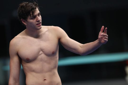 Nándor Németh - courtesy of Hungarian Swimming Federation