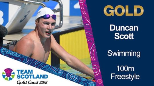 Duncan Scott and teammates are the cream of the crop but Scotland wants to harness its plough out of a pandemic to sport and seize the moment to show a nation how it can help itself back to fitness in better times - image courtesy of Scottish Swimming