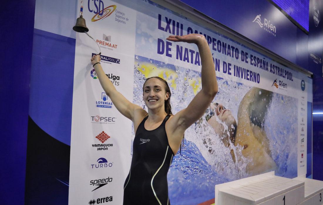 Lidón Muñoz - courtesy of the RFEN, Royal Spanish Swimming Federation