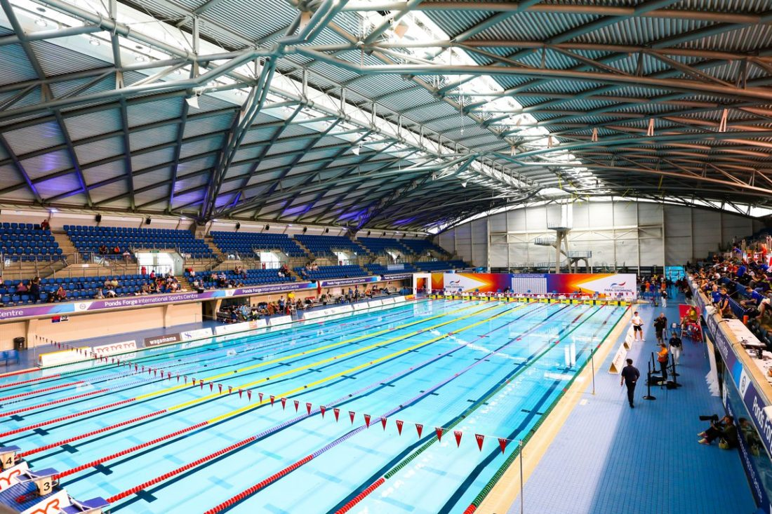 Ponds Forge, courtesy of British Swimming