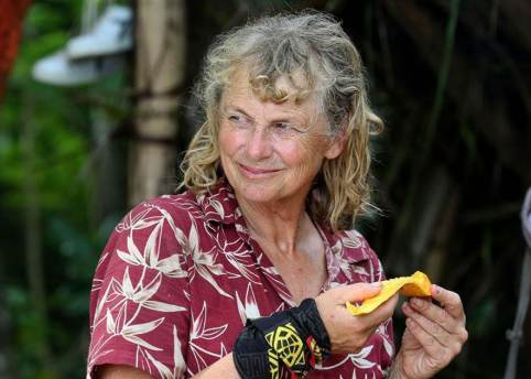 Shane Gould, the strategist worked out how to survive and become the oldest winner of Survivor anywhere in the world - Photo Courtesy: Survivor, Channel 10, Shane Gould