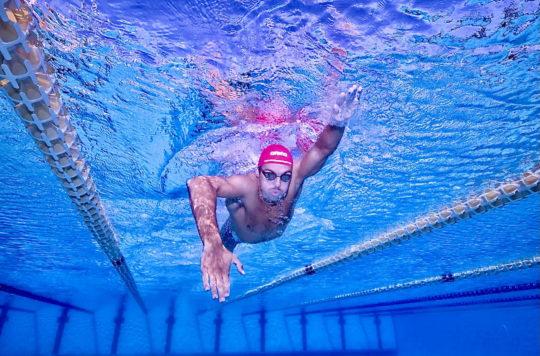 Gregorio Paltrinieri - courtesy of his sponsor arena