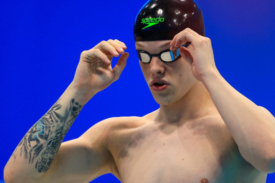 Matt Richards, by Georgie Kerr, courtesy of British Swimming