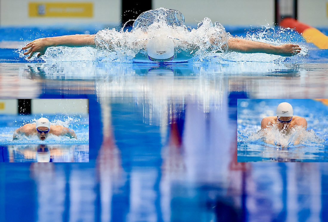 Duncan Scott on a medley mission - Photo by Georgie Kerr, courtesy of British Swimming