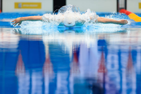 At one with water - Photo by Georgie Kerr, courtesy of British Swimming