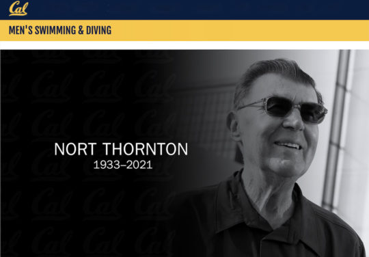 Nort Thornton, courtesy of Cal, University of California Golden Bears Athletics, Swimming and Diving